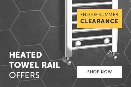 Heated Towel Rail End of Summer Clearance