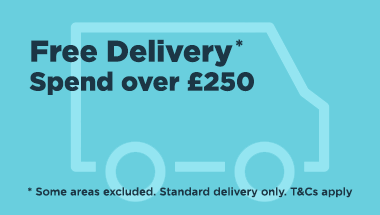 FREE delivery. Some areas excluded. Standard delivery only. T&Cs apply.