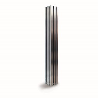 Aeon Alien Stainless Steel Free Standing Vertical Designer Radiator