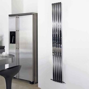 Aeon Twister Stainless Steel Vertical Designer Radiator