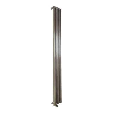 Aeon Venetian Stainless Steel Vertical or Horizontal Designer Radiator - Polished - 1000x380