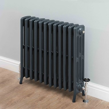 Butler & Rose Darcy 4 Column Cast Iron Radiator - 660 x 748mm