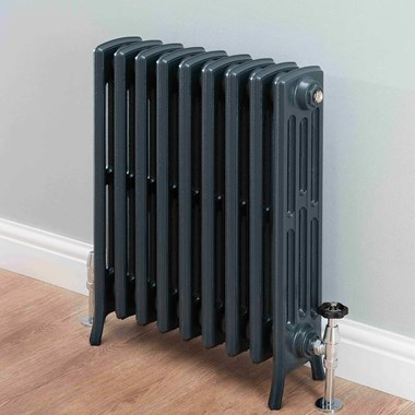 Butler & Rose Darcy 4 Column Cast Iron Radiator - 760 x 568mm