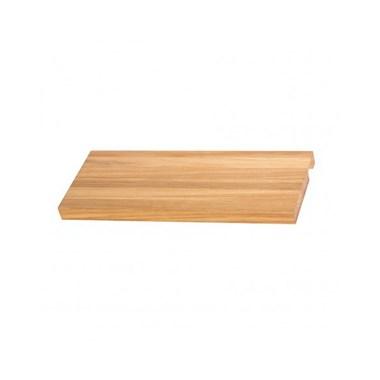 Wooden Shelf for DQ Heating Fender Towel Rail Radiator - Beech