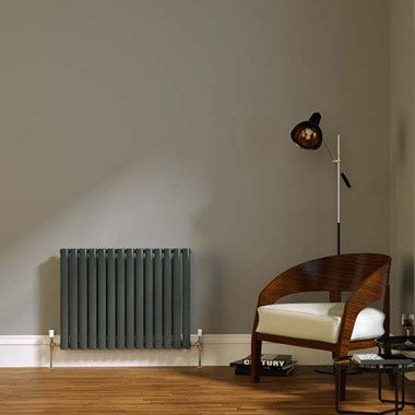 Brenton Wilis Horizontal Double Panel Designer Radiator