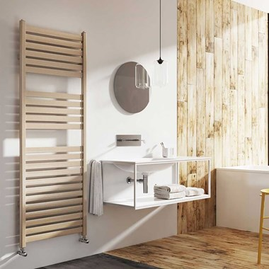 Brenton Suva Metallic Heated Towel Rail