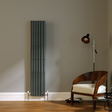 Brenton Wilis Vertical Double Panel Designer Radiator