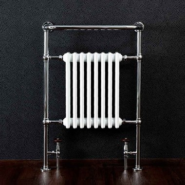Butler & Rose Ducher Bathroom Traditional Heated Towel Rail Radiator - 965 x 673mm