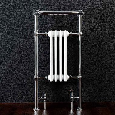Butler & Rose Elizabeth Bathroom Traditional Heated Towel Rail Radiator - 965 x 495mm