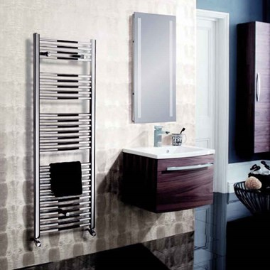 Crosswater Design Chrome Towel Radiator