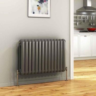 DQ Heating Cassius Column Style Mild Steel Horizontal Designer Radiator