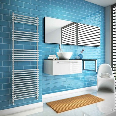 DQ Heating Altona Vertical Heated Towel Rail