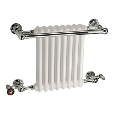 DQ Heating Ashill Wall Mounted Luxury Traditional Heated Towel Rail