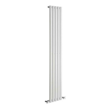 DQ Heating Cove Single Panel Mild Steel Vertical Designer Radiator