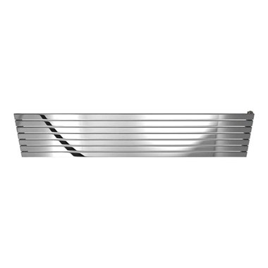 DQ Heating Delta Stainless Steel Horizontal Designer Radiator