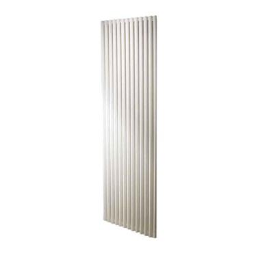 DQ Heating Vulcano Single Panel Mild Steel Vertical Designer Radiator