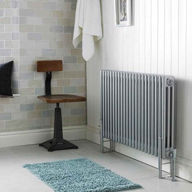 Hudson Reed Colosseum Triple Column Horizontal Radiator - 600 x 1011mm