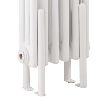Hudson Reed Colosseum White Floor Mounting Legs