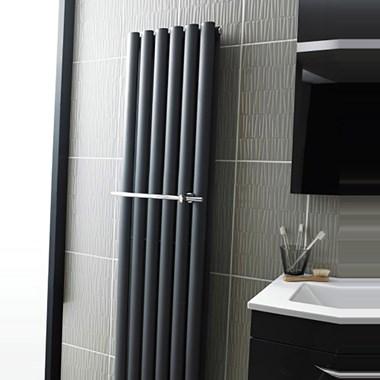 Hudson Reed Towel Rail for Revive Radiator - Chrome