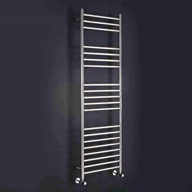 Phoenix Athena Bathroom Electric Heated Towel Rail Radiator - Stainless Steel