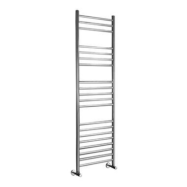 Phoenix Athena Bathroom Heated Towel Rail Radiator - Stainless Steel - 1400x350