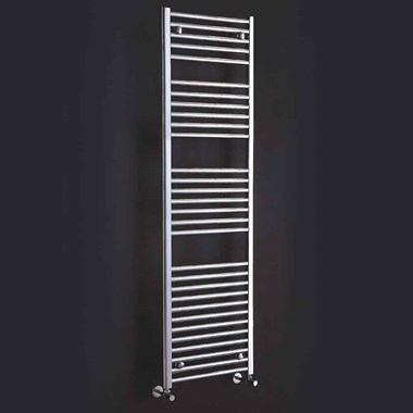 Phoenix Flavia Electric Bathroom Straight Heated Towel Rail Radiator - Chrome
