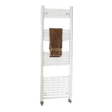 Phoenix Flavia Bathroom Straight Heated Towel Rail Radiator - White - 800x400