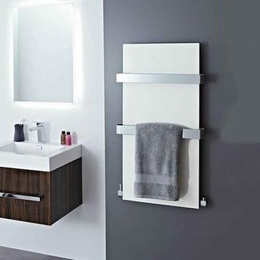 Phoenix Icon Bathroom Designer Panel Heated Towel Rail Radiator - 907x508mm
