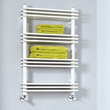 Phoenix Jade Electric Bathroom Designer Heated Towel Ladder Rack Radiator - 800x500mm