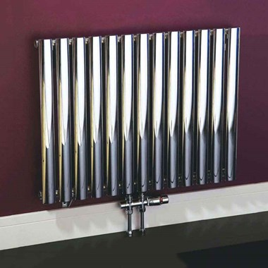 Phoenix Louise Horizontal Designer Wall Mounted Radiator