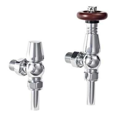 Phoenix Oxford Thermostatic Angled Valves