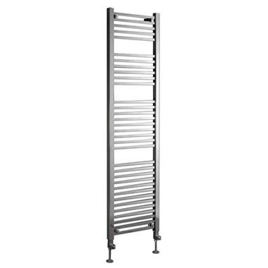 Phoenix Sophia Bathroom Heated Towel Rail Radiator - Chrome - 1200x500mm