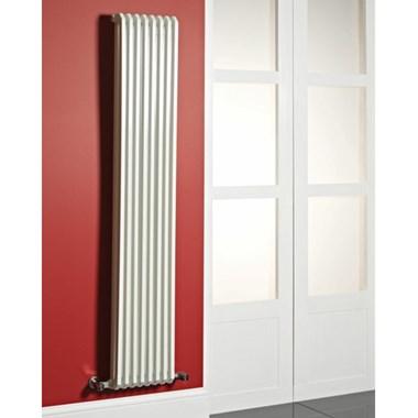 Phoenix Dee Vertical White Designer Column Style Radiator - 1800x340mm