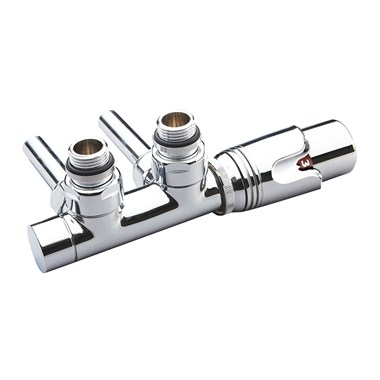 Phoenix Thermostatic Twin Angled Radiator Valves