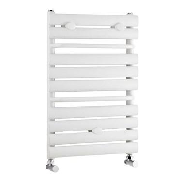 Premier Heated Ladder Towel Rail - High Gloss White - 640 x 445mm