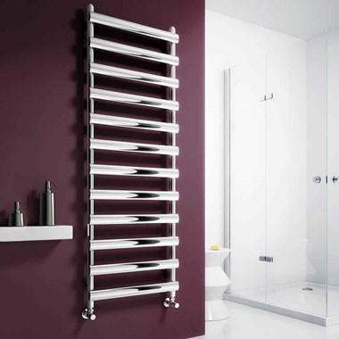 Reina Deno Stainless Steel Bathroom Heated Towel Rail Radiator