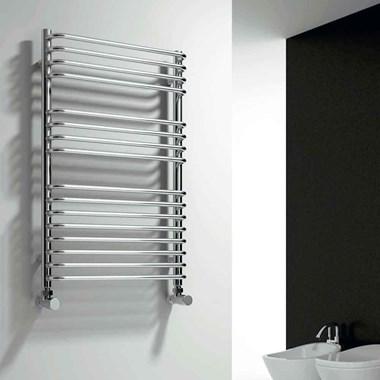 Reina Isaro Designer Steel Heated Towel Rail - 800x300