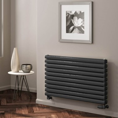 Reina Roda Horizontal Panel Designer Radiator - Anthracite
