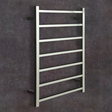 Thermosphere Square Dry Electric Towel Rail - 800 x 600mm