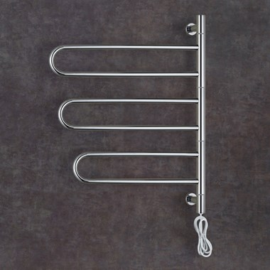 Thermosphere Swivel Rail Dry Electric Towel Rail - 725 x 515mm