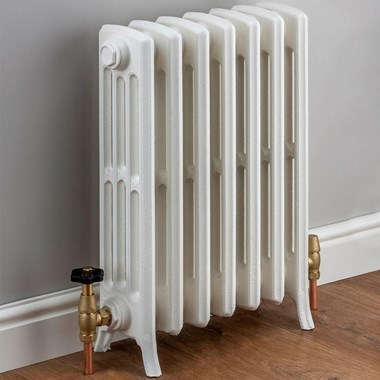 Butler & Rose Darcy 4 Column Cast Iron Radiator - 760 x 448mm