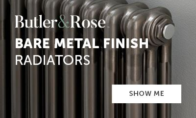 Butler & Rose bare metal finish radiators