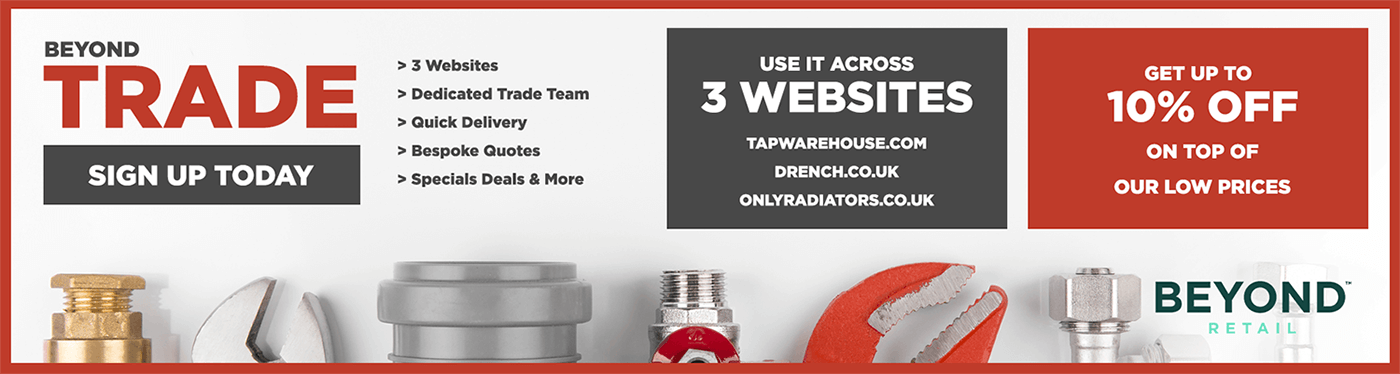 Trade Account - Use it across 3 websites and get up to 10% off our already low prices!