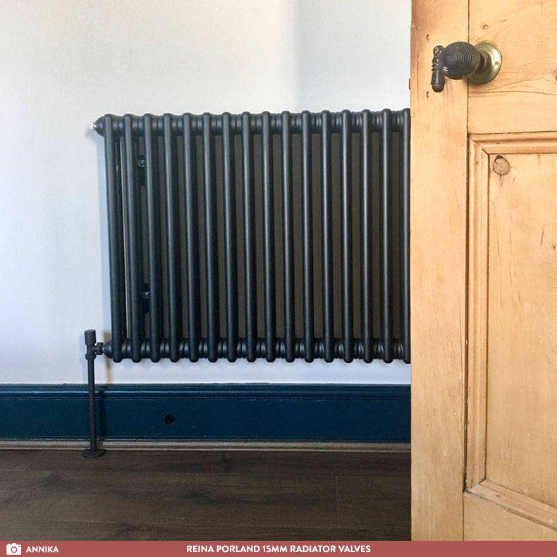 black-column-radiator