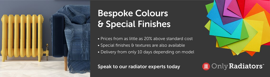 Bespoke colours and special finishes