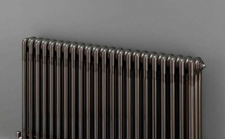 REINA CAMDEN TRADITIONAL DESIGNER RADIATORS IN CHROME WHITE FINISH